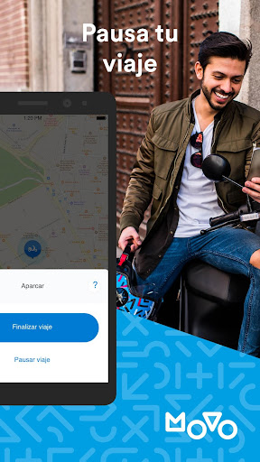 Movo - Motosharing and electric scooters  Wallpaper 6