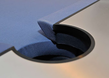 Apex Pool Table Middle Pocket with blue felt