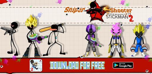 Sniper Shooter Stickman 2 Fury: Gun Shooting Games captures d'écran