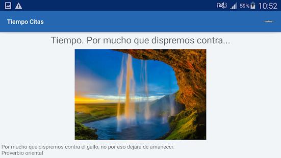 Download Tiempo Citas y frases famosas For PC Windows and Mac apk screenshot 10