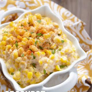 CrockPot Creamed Corn.