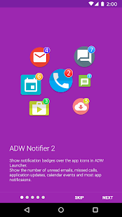 ADW Notifier 2: miniatura de captura de pantalla