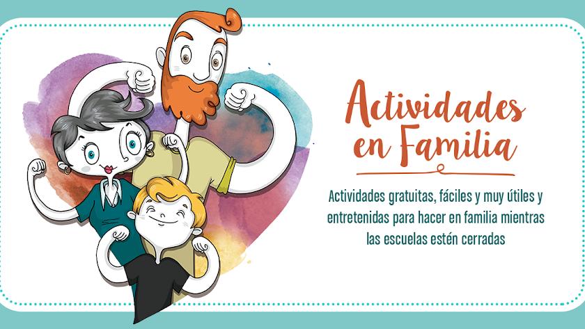 Lunes, miércoles y viernes, nuevas actividades en familia de EDUCO.