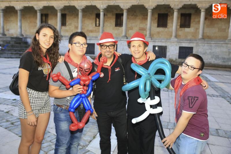Mago en Madrid show benéfico Salamanca 2015
