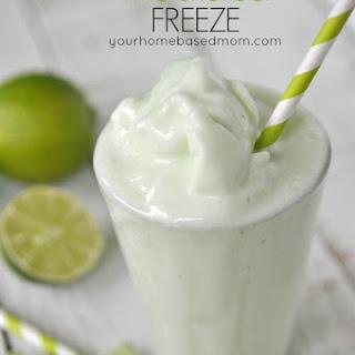 Lime Sherbet Freeze