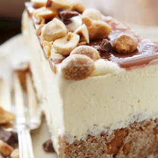 Frozen Peanut Butter Ice Cream Cake