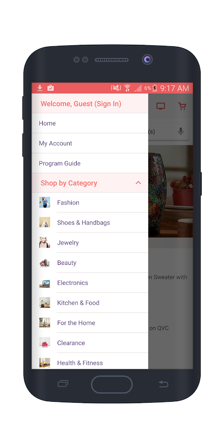QVC (US)- screenshot