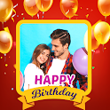 Birthday Photo Editor : Birthday Name with Song icon