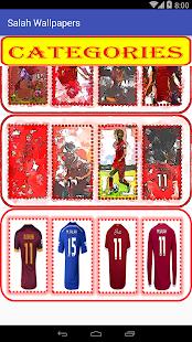 Mohamed Salah Wallpaper Football Player - náhled