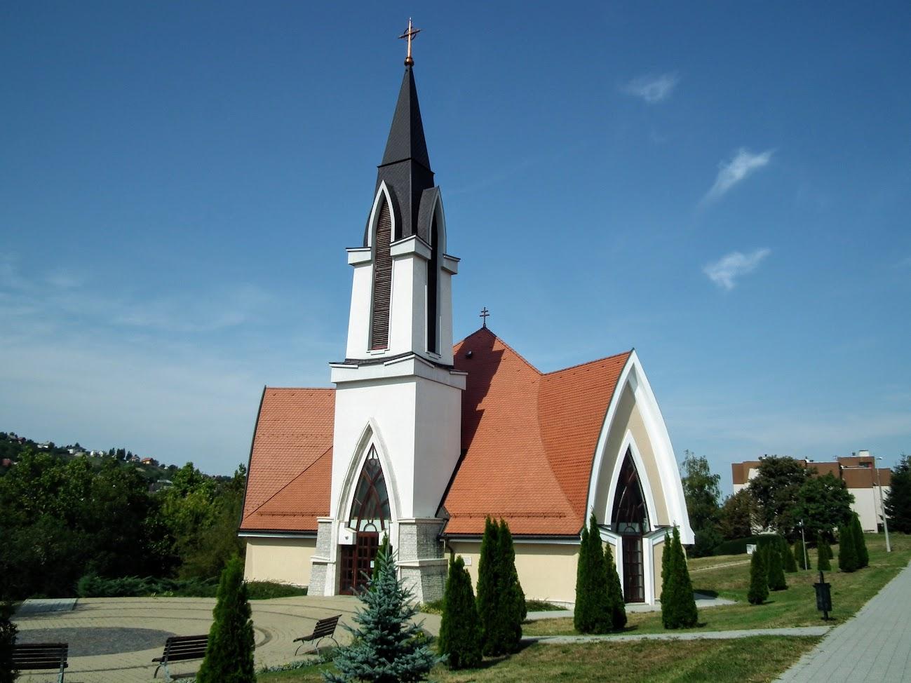 Zalaegerszeg - Kertvárosi Szűz Mária Szeplőtelen Szíve templom