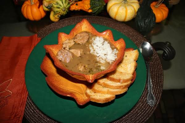 Cajun Chicken & Sausage Gumbo Recipe