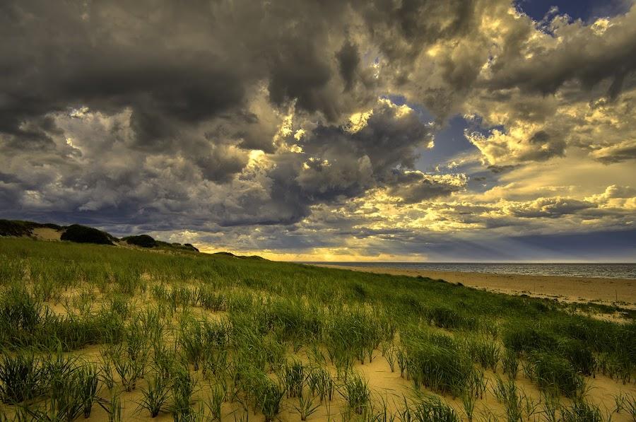 Thunderstorm... by John Aavitsland - Landscapes Weather