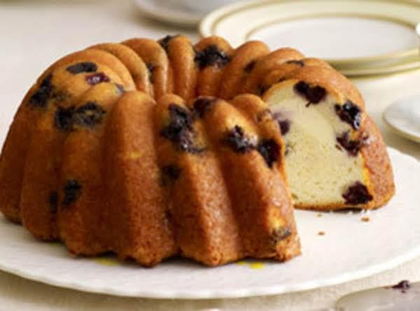 Lemon-blueberry Swirl Cake