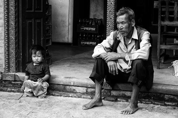 Il vecchio e il bambino di samsara