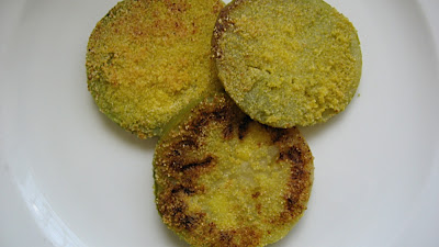 Fried Green Tomatoes and Parmesan Omelet – Food Woolf