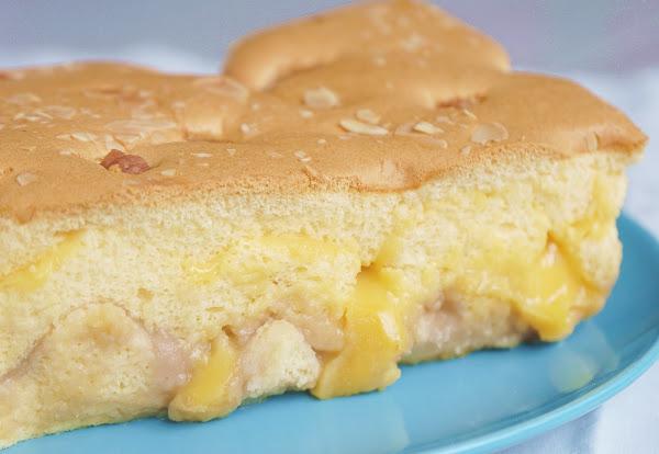 滿滿夾餡創新古早味蛋糕~芋頭控必吃的芋頭布丁口味!高雄古早味蛋糕推薦-朵玫絲甜點森林