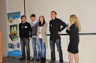Photo: Kasia Sowa i młodzież z 20 ZSP