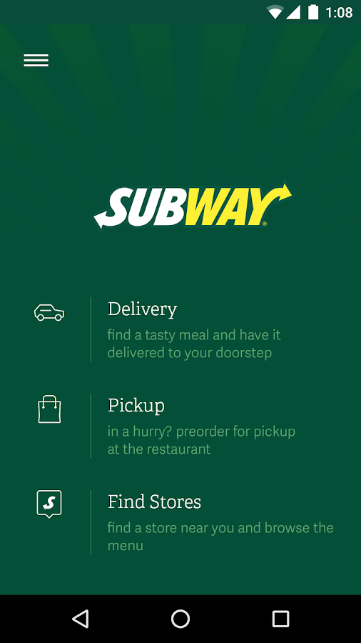 SUBWAY® Romania- screenshot
