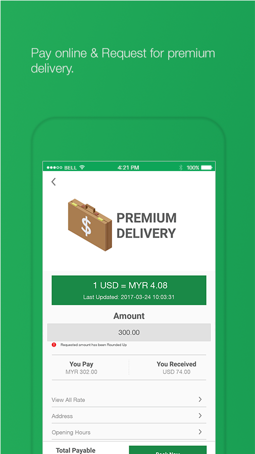 Moneybay - Money Changer App- screenshot