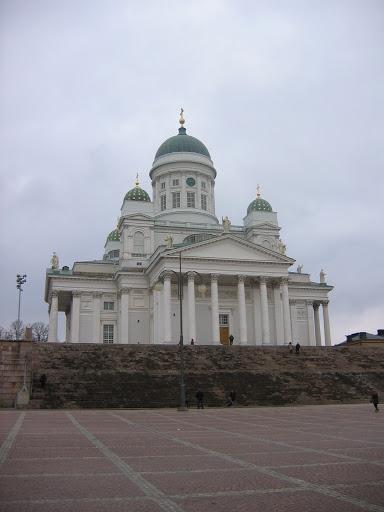La cathédrale luthérienne d'Helsinki