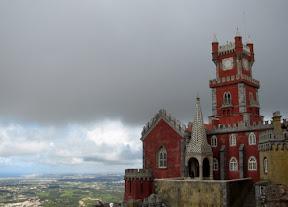 Foto do Palácio da Pena