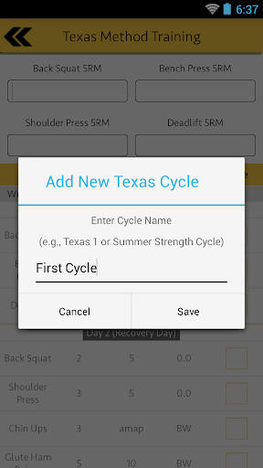 Texas Method Training