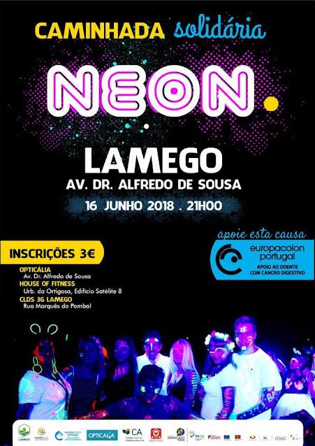 Caminhada Solidária NEON - Lamego - 16 de Junho