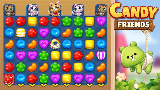Candy Friendsu00ae : Match 3 Puzzle  screenshots 9
