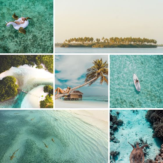 Island Collage - Instagram Post Template