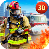 Urban City Firefighter Simulator - Rescue Heroes