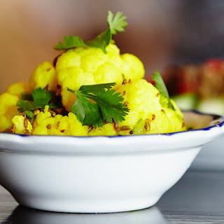 Ginger-Lime Cauliflower