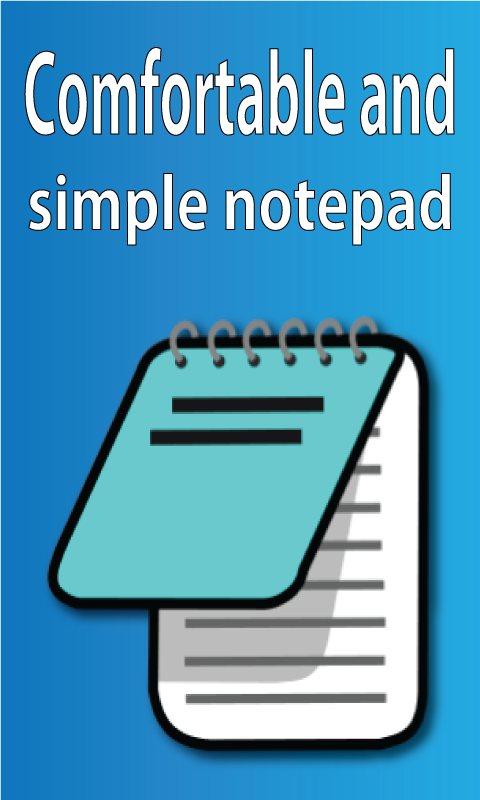 My Notepad- screenshot