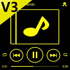 SKIN PLAYERPRO V3 NEON YELLOW