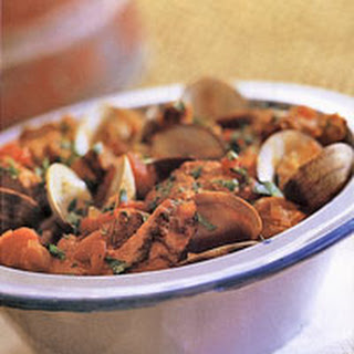 Portuguese Pork with Clams Recipe