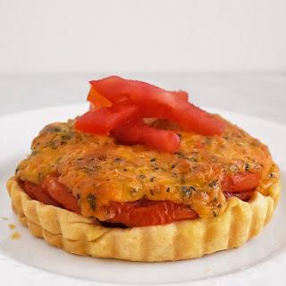 Fresh Tomato Pie Tart
