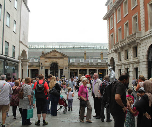 Restaurants and Cafes in Covent Garden