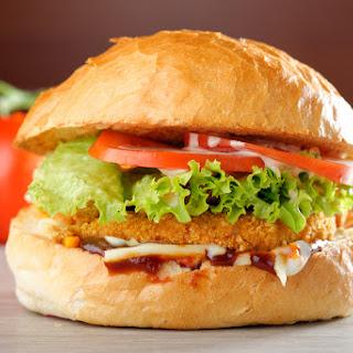 Copycat KFC Zinger Chicken Burger In The Airfryer.
