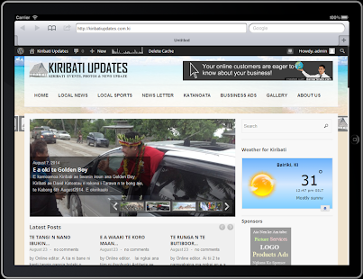 Kiribati Updates :  Current & Breaking News- screenshot thumbnail