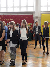Photo: Laureaci Wojewódzkich Konkursów Przedmiotowych - P. Mantiuk 3a j.niemiecki