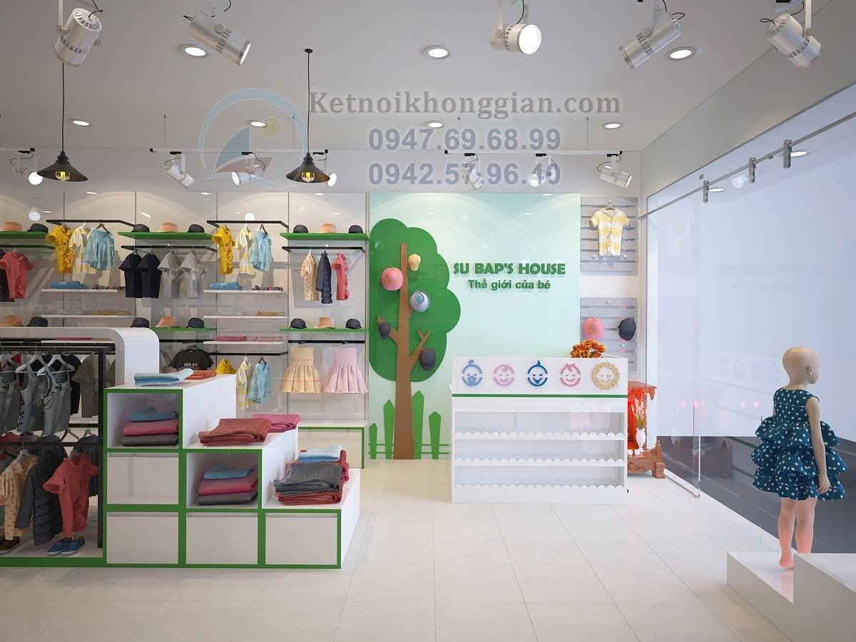 thiết kế shop mẹ và bé chuyên nghiệp