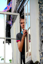 Photo: Boy at a Window