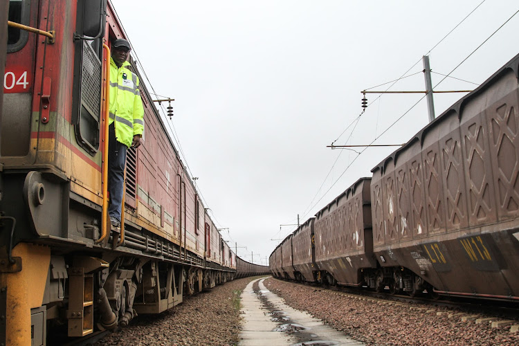 Transnet. Picture: BLOOMBERG/DEAN HUTTON