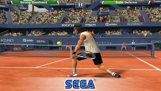 Virtua Tennis Challenge 1.2.0 Apk Mod (Unlimited Money) Latest Version Download 4