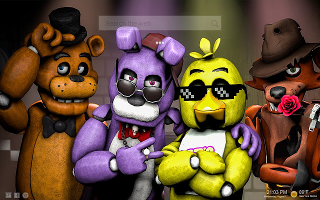 FNaF NewTab Backgrounds
