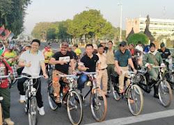 Pangdam V/Brawijaya resmikan kawasan car free day