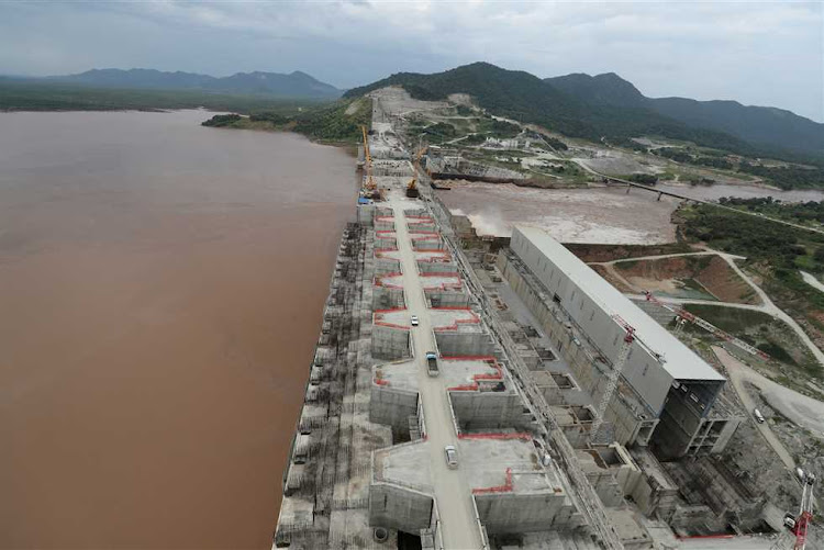 File photo of the Grand Ethiopian Renaissance Dam