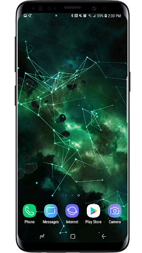 Space Particles 3D Live Wallpaper  screenshots 14