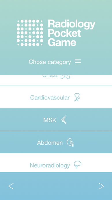 Radiology Pocket Game- screenshot