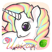Unicorn GO Keyboard Theme