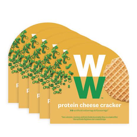 Smörgåskex med ost och gräslök - 5-pack